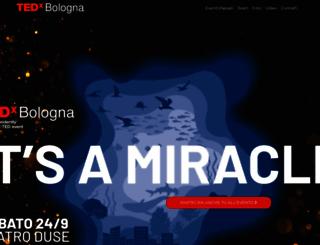 tedxbologna.com screenshot