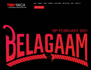 tedxmica.com screenshot