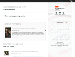 tedxphiladelphia.ticketleap.com screenshot
