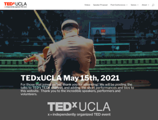 tedxucla.org screenshot
