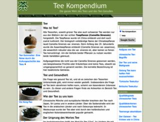 tee-kompendium.de screenshot