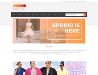 teedayusa.com screenshot