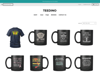teedino.com screenshot