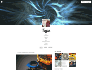 teeeegan.tumblr.com screenshot