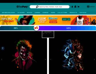 teefury.com screenshot