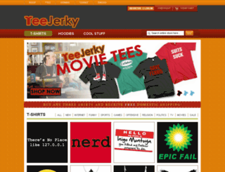 teejerky.com screenshot