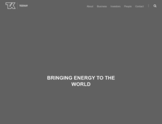 teekay.com screenshot