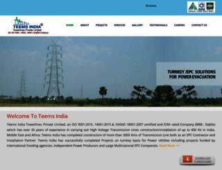 teemsindia.com screenshot