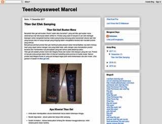 teenboyssweet-marcel.blogspot.com screenshot