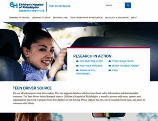 teendriversource.org screenshot