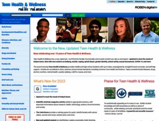 teenhealthandwellness.com screenshot
