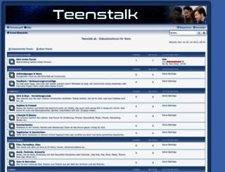 teenstalk.de screenshot