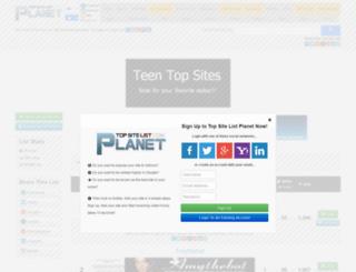 teentop.top-site-list.com screenshot