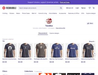 teesbox.com screenshot