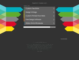 teeshirt-maker.com screenshot