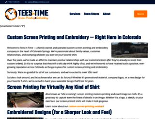 teesintime.com screenshot