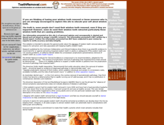 teethremoval.com screenshot