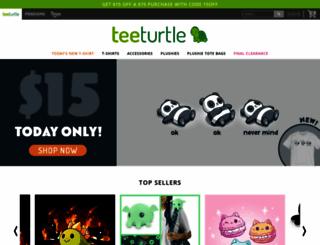 teeturtle.com screenshot
