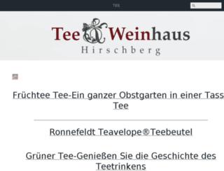 teeundweinhaus.de screenshot