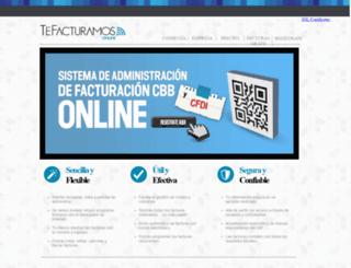 tefacturamos.com.mx screenshot