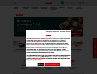 tefal.pl screenshot