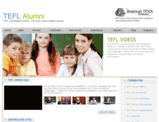 teflprojects.com screenshot