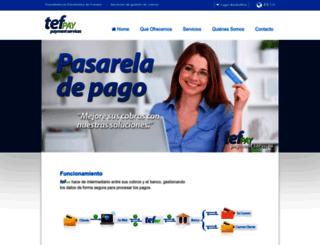 tefpay-tesing.tefpay.com screenshot