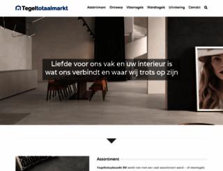 tegeltotaalmarkt.nl screenshot