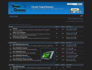 tegraowners.com screenshot