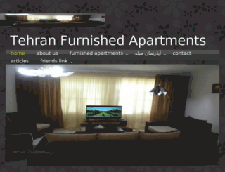 tehran-lux-furnished.com screenshot