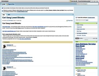 tehsirsakdepok.pbworks.com screenshot