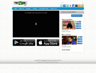 tehzeebtv.com screenshot
