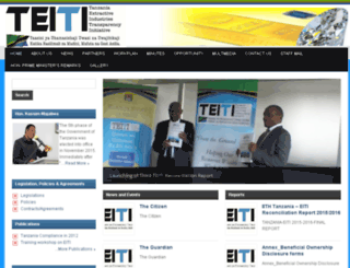 teiti.or.tz screenshot