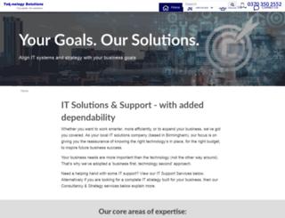 tek-nologysolutions.co.uk screenshot