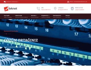 tek.net.tr screenshot