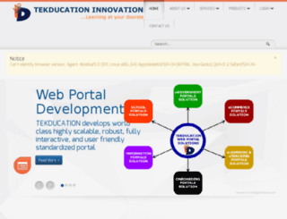 tekducation.com screenshot