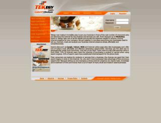 tekegysms.com screenshot