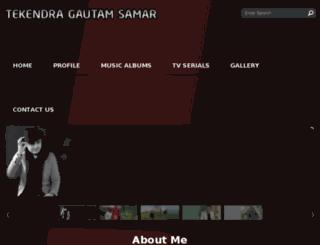 tekendragautamsamar.com screenshot