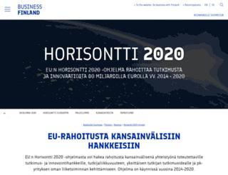 tekes.eu screenshot