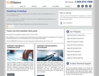 tekglance.com screenshot