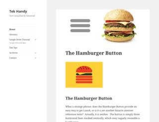 tekhandy.com screenshot