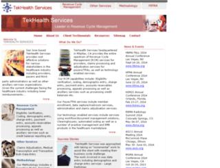 tekhealthservices.com screenshot