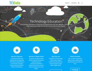 tekids.org screenshot