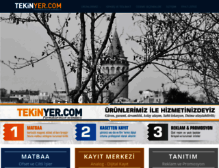 tekinyer.com screenshot