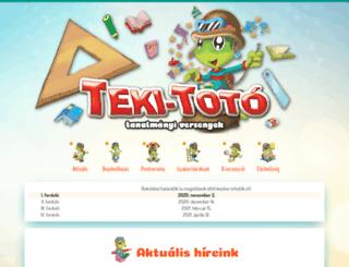 tekitoto.hu screenshot