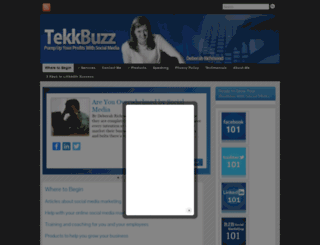 tekkbuzz.com screenshot