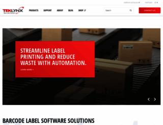 teklynx.com screenshot