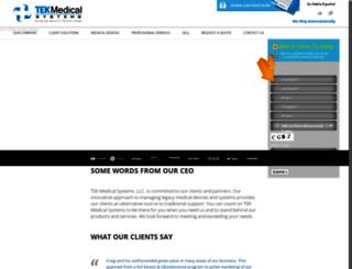 tekmedicalsys.com screenshot