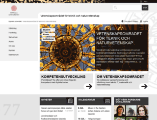 teknat.uu.se screenshot