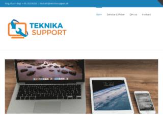 teknikasupport.dk screenshot